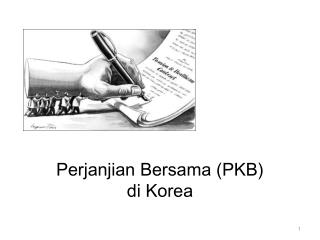 Perjanjian Bersama  (PKB)  di Korea