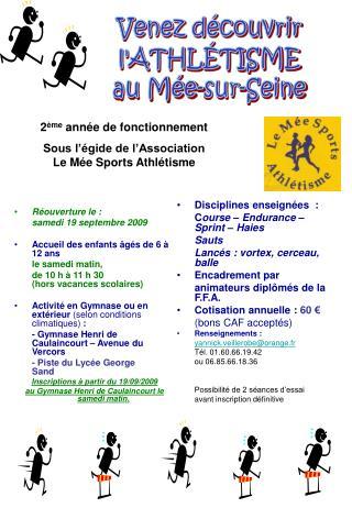 Réouverture le : samedi 19 septembre 2009 Accueil des enfants âgés de 6 à 12 ans le samedi matin,