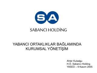 SABANCI HOLDİNG