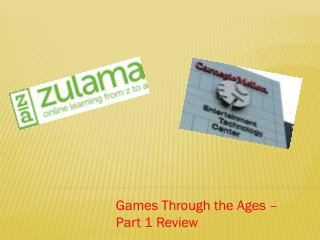 Games Through the Ages – Part 1 Review
