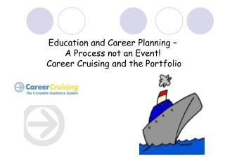 Education and Career Planning �  A Process not an Event!   Career Cruising and the Portfolio