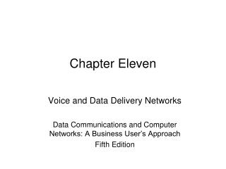 Chapter Eleven