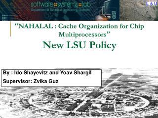By : Ido Shayevitz and Yoav Shargil Supervisor: Zvika Guz