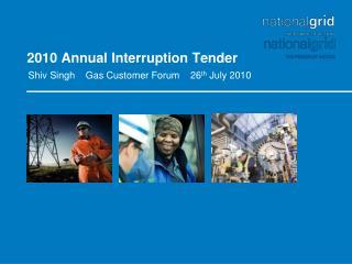 2010 Annual Interruption Tender