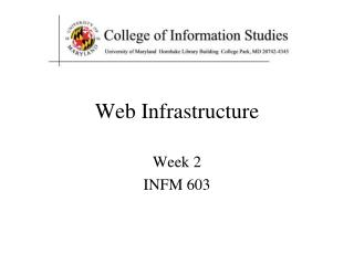 Web Infrastructure