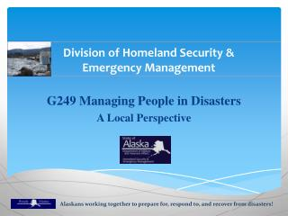 Division of Homeland Security & Emergency Management