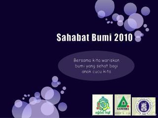 Sahabat Bumi 2010