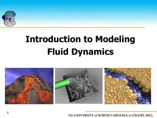 Introduction to Modeling  Fluid Dynamics