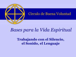 Bases para la Vida Espiritual
