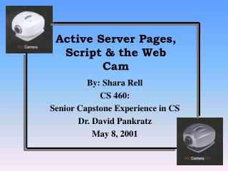 Active Server Pages, Script & the Web Cam