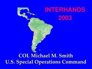 INTERHANDS 2003
