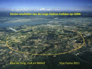 Eerste resultaten van de Large Hadron Collider op CERN