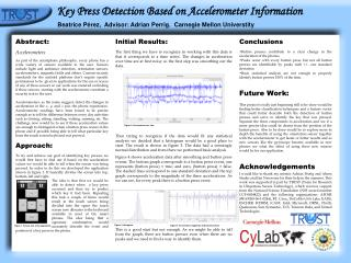 Key Press Detection Based on Accelerometer Information