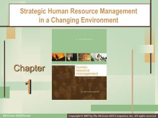 Strategic Human Resource Management in a Changing Environment