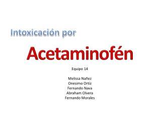 Intoxicación por