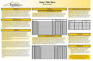 TEMPLATE PROVIDED BY Jeffrey L. Helms,  Department of Psychology, Kennesaw State University,