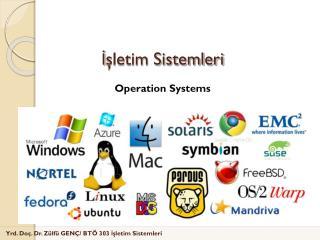 İşletim Sistemleri