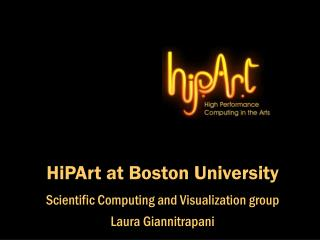 HiPArt at Boston University
