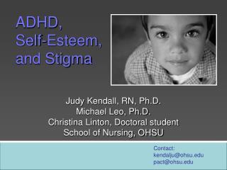 ADHD,  Self-Esteem,  and Stigma