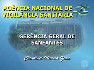 AG NCIA NACIONAL DE VIGIL NCIA SANIT RIA