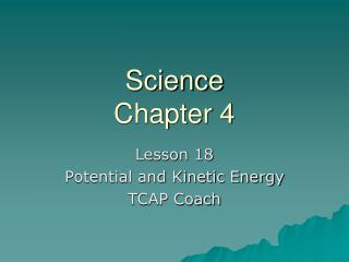 Science Chapter 4