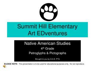 Summit Hill Elementary Art EDventures