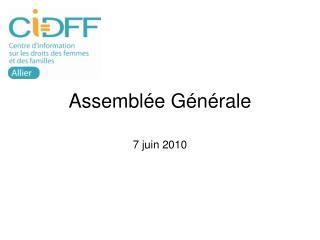 Assembl e G n rale