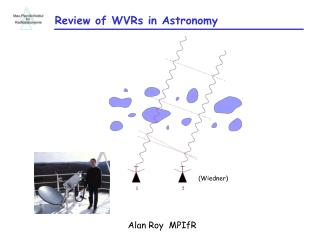 Review of WVRs in Astronomy
