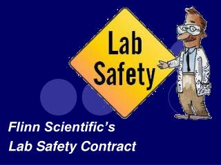 Flinn Scientific's  Lab Safety Contract