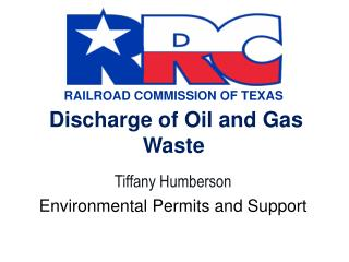 Discharge of Oil and Gas Waste
