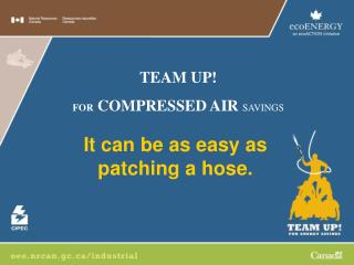 It can be as easy as  patching a hose.