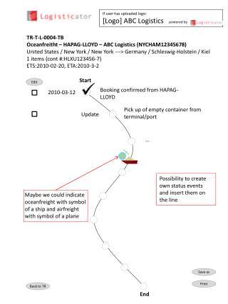 TR-T-L-0004-TB  Oceanfreitht � HAPAG-LLOYD � ABC Logistics (NYCHAM12345678)
