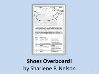 Shoes Overboard! by Sharlene P. Nelson