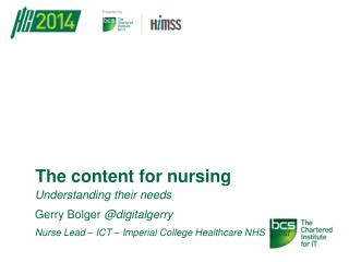 The content for nursing