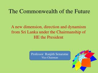 The Commonwealth of the Future