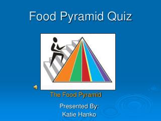 Food Pyramid Quiz