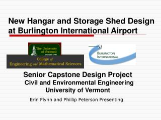 New Hangar and Storage Shed Design at Burlington International Airport