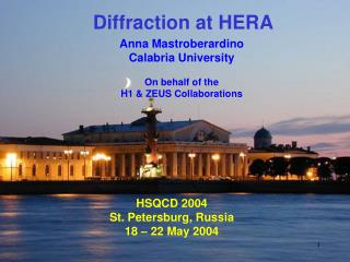 Diffraction at HERA