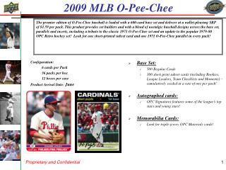 2009 MLB O-Pee-Chee