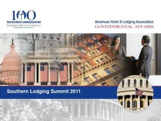 Southern Lodging Summit 2011