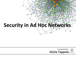 Security in Ad Hoc Networks