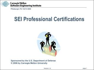 SEI Professional Certifications