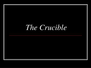 the crucible vs real life Relevance of the crucible the themes discussed in the crucible by arthur miller are timelessone main theme in the novel that is still relevant today is the relationship between intolerance and fearintolerance usually arises from fear and there is intolerance in every societyin the play, the characters are intolerant of people who do not.