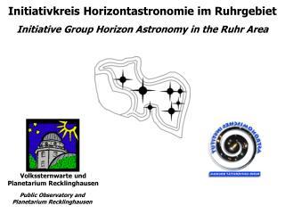 Initiativkreis Horizontastronomie im Ruhrgebiet