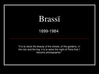Brass ï