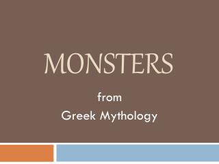 a comparison of the character of polyphemus in the greek mythology and the odyssey by homer Magic in other greek mythology, hermes' sandals are generally referred to as winged, but homer calls them ambrosial in any case, it seems clear in the odyssey.