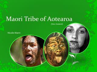 Maori Tribe of  Aotearoa