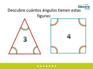 Descubre cuántos ángulos tienen estas figuras: