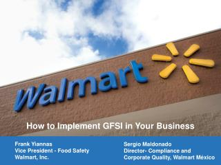 How to Implement GFSI in Your Business