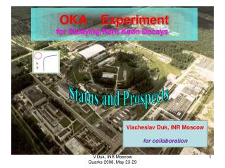OKA    Experiment for Studying Rare Kaon Decays